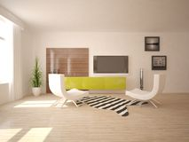 White interior concept Royalty Free Stock Photography