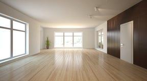 White interior concept for living room Stock Photo