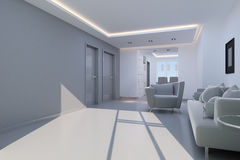 White interior design Royalty Free Stock Photography