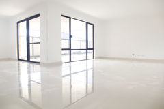 White interior, reflection Royalty Free Stock Images