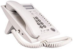 White IP telephone isolated Stock Photography