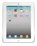 White iPad 2. The latest generation iPad 2, highly popular around the world Stock Photos
