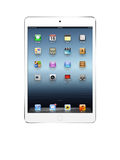 White ipad mini Royalty Free Stock Image