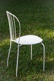 White iron garden chair Stock Photography