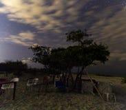 White island, cancun Quintana Roo, night of stars. Water, reflection, ocean, amazing, trip, orange, wild, beach, wildlife, sunset, shape, mexico, caribbean stock images