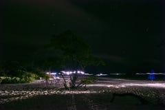White island, cancun Quintana Roo, night of stars. Water, reflection, ocean, amazing, trip, orange, wild, beach, wildlife, sunset, shape, mexico, caribbean stock photo