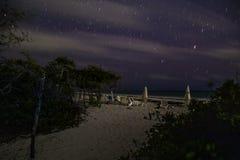 White island, cancun Quintana Roo, night of stars. Water, reflection, ocean, amazing, trip, orange, wild, beach, wildlife, sunset, shape, mexico, caribbean stock image
