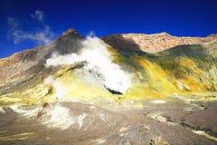 White island, New zealand Stock Image