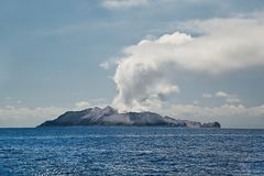 White Island Volcano Stock Photography