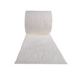 White isolated toilet paper roll Royalty Free Stock Photography