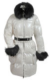 White jacket Royalty Free Stock Photo