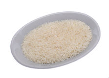 White jasmin rice Stock Images