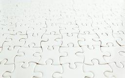 White jigsaw puzzle background Royalty Free Stock Photo