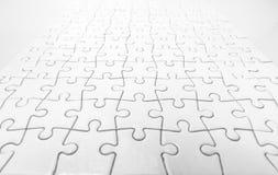 White Jigsaw Stock Photography