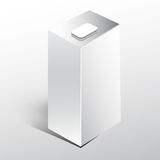 White Juice milk box Royalty Free Stock Photography