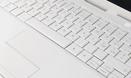 A white Keyboard Stock Photography