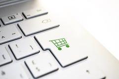 White keys of computer keyboard on white background, closeup royalty free stock photo
