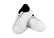 White Kids Shoe Royalty Free Stock Photos