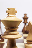 White king chess Royalty Free Stock Photo