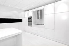 White kitchen Stock Photos