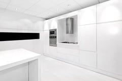 White kitchen stock photos