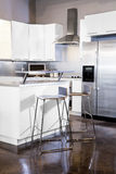 White kitchen Royalty Free Stock Photos