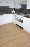 White kitchen Stock Image