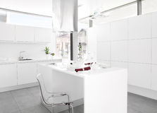 White kitchen Royalty Free Stock Photography
