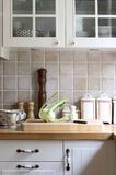 White kitchen Royalty Free Stock Images