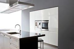 White Kitchen Royalty Free Stock Photos