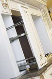 White Kitchen Cabinet Royalty Free Stock Photography