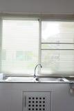 White kitchen room Royalty Free Stock Image