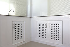 White kitchen room Stock Photography