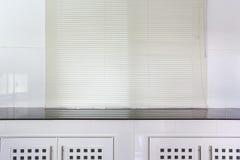 White kitchen room Stock Photos