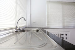 White kitchen room Royalty Free Stock Photography