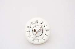 White Kitchen timer Stock Photo