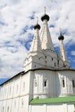 white klasztoru Zdjęcia Stock