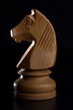 White knight chess Stock Image