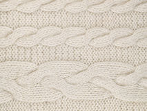 White  knitted Royalty Free Stock Photos
