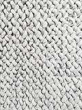 White knitted background Stock Images