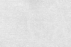 White knitted cotton mesh. Stock Photo