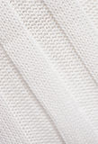 White knitted fabric. Royalty Free Stock Image