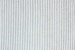 White knitted fabric Royalty Free Stock Photography