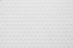 White Knitted Fabric Texture Stock Image