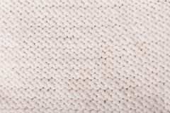 White knitted texture Stock Photo