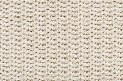 White knitted wool Royalty Free Stock Photos