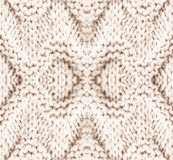 White knitting background texture. High resolution Knit woolen F Royalty Free Stock Image