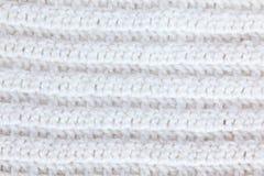 White knitting Stock Image