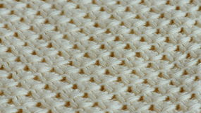 White knitting texture Stock Photos