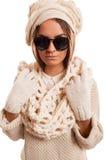 White Knitwear Stock Image